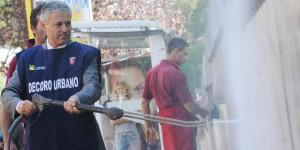 Massimo Meneghin arredo urbano una miniera