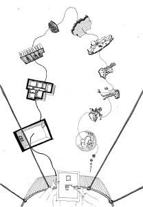 Massimo Meneghin disegno a mano libera