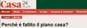 Massimo Meneghin il piano casa non è il pianoforte