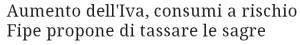 Massimo Meneghin progettare nuove tasse