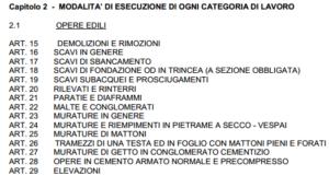 Massimo Meneghin capitolato appalto