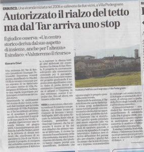 Massimo Meneghin denuncia inizio attività