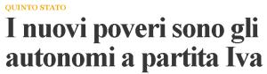 Massimo Meneghin dipendente e autonomo senza lavoro