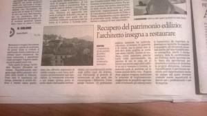 Massimo Meneghin articolo su quotidiano