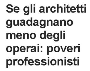 Massimo Meneghin architetti e operai