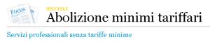 Massimo Meneghin minimi tariffari e reddito minimo