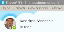 Massimo Meneghin video chiamate