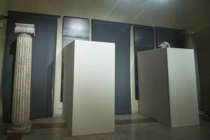 Massimo Meneghin riciclare i copristatua