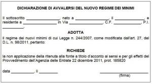 Massimo Meneghin architetti nel regime dei minimi