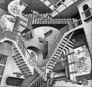 le scale impossibili di Escher