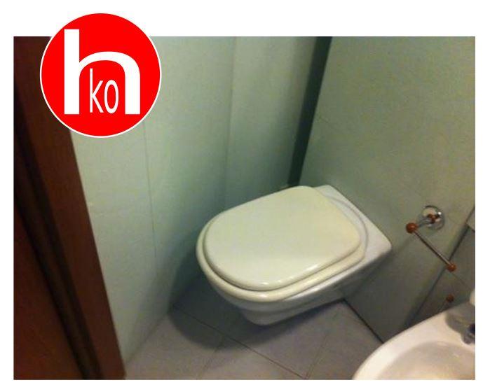 servizio igienico impossibile da utilizzare